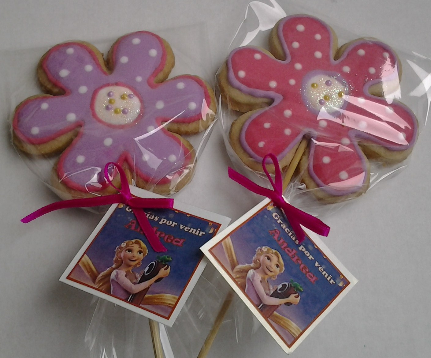 Galleta rapunzel